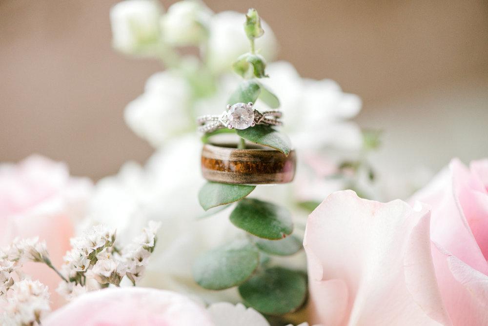 wedding ring detail - wedding photographer