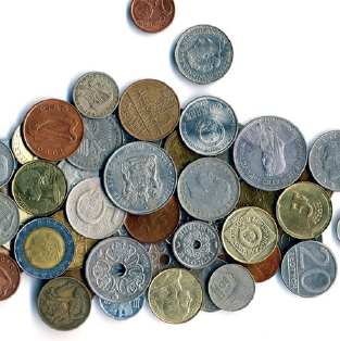 Find the value of your old coins.