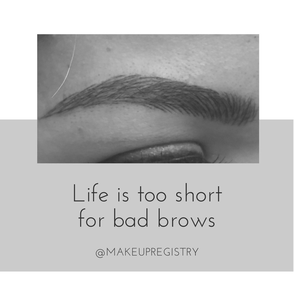 Why Microblading? -  Saves you so much time when getting ready (especially with the kiddos!)Looks so natural, no one else has to know they are a cosmetic tattooLife is too short for bad brows!