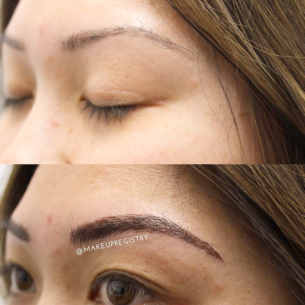 Owen's Eyebrow Microblading Results