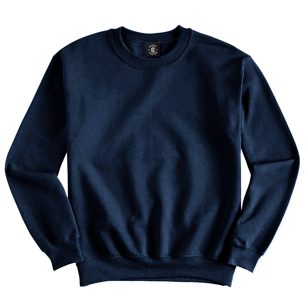 Fabric: – 50% Cotton / 50% Polyester Fleece Weight: – 279 g/m2 Sizes: – S, M, L, XL, 2XL, 3XL, 4XL, 5XL Colours: Black, Asphalt Marle,  Grey Marle, Navy, Red, Royal. - Double needle stitching at waistband and cuffs - T1 x 1 rib with spandex - Quarter-turned to eliminate centre crease - Illicit Custom Label - Relaxed fit