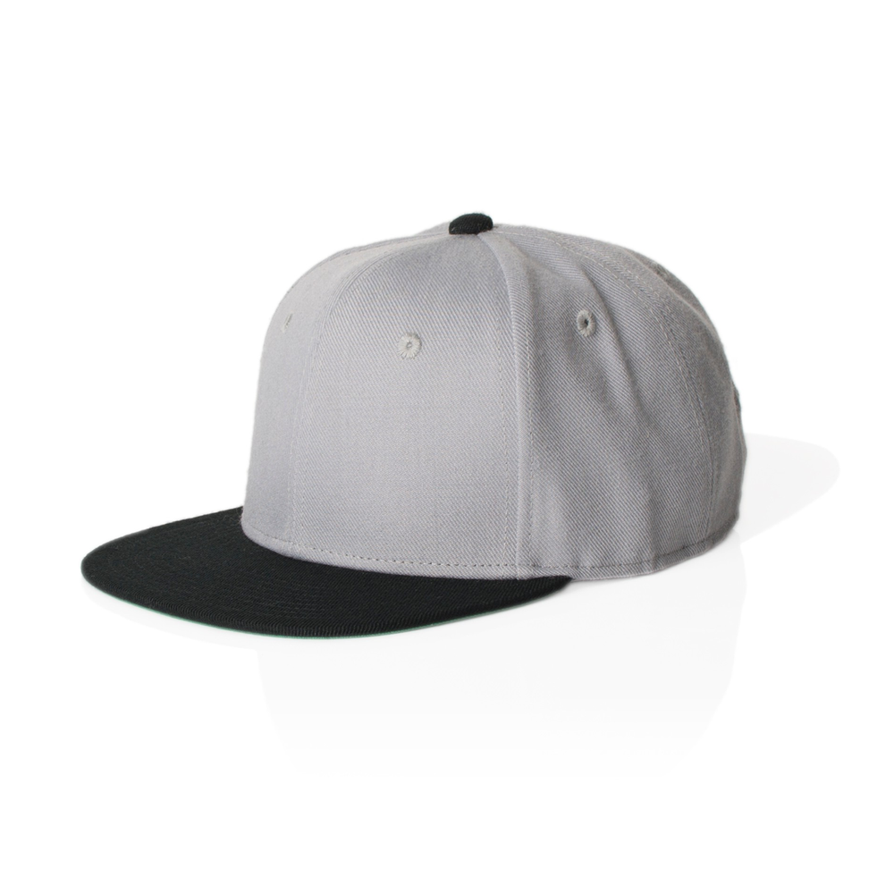 Fabric: – 80% acrylic 20% wool Sizes: – One Size Decoration Options: Embroidery Only. Colours: Solid Black, Solid Grey, Solid Navy, Lt Grey/Black, Black/Lt Grey, Dk Grey/Burgundy, Dk Grey/Black - Structured 6 Panel High Profile Cap - Embroidered eyelets - Adjustable snap back closure - Illicit Custom Label