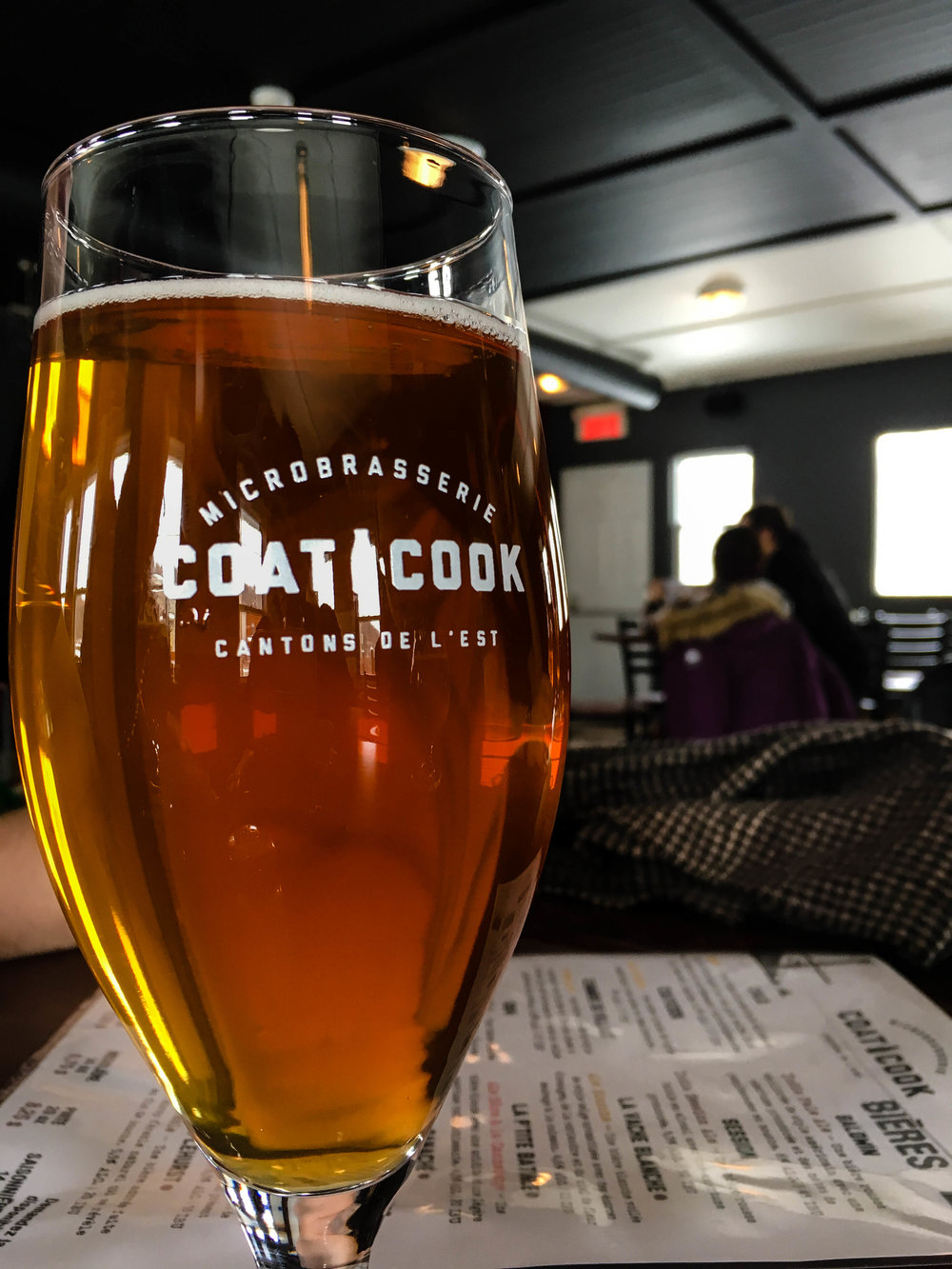 Coaticook craft brewery