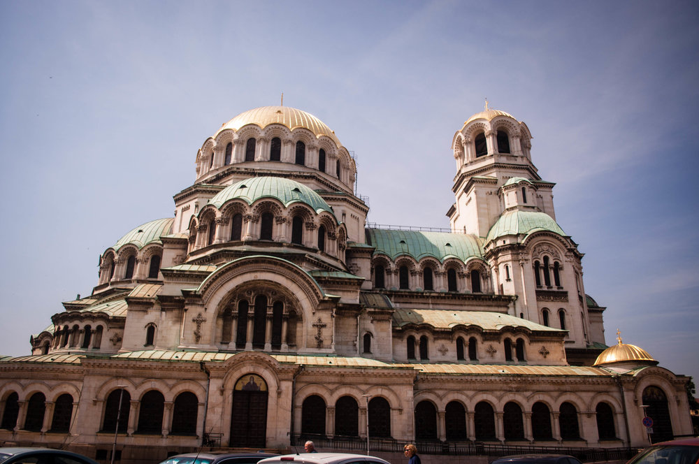 Alexander Nevsky Cathedral in Sofia (Bulgaria)