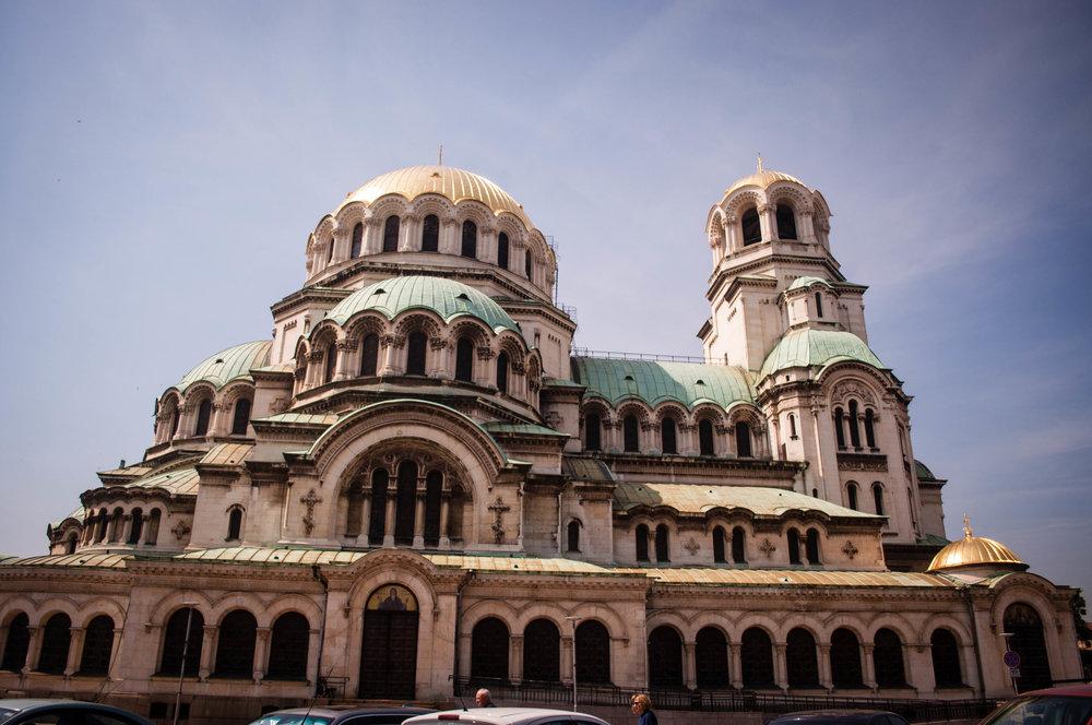 Sofia itinerary, Alexander Nevsky Cathedral in Sofia (Bulgaria)