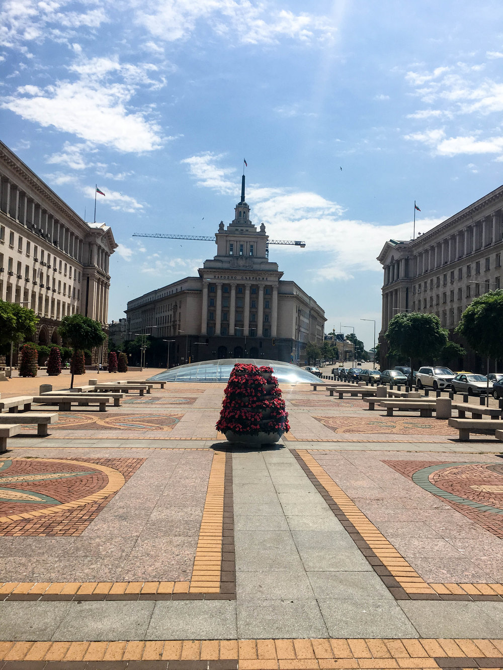 Serdika square, this is one of the must-see in a 2-day itinerary in Sofia (Bulgaria)