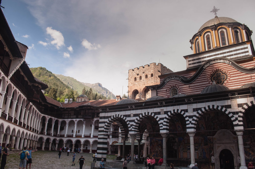 Rila monastery is a UNESCO World Heritage Site, this is a must-see in any Road trip Bulgaria