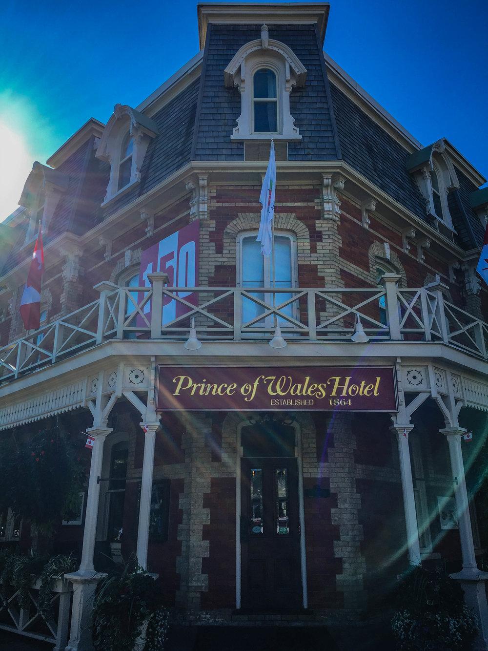 Niagara-on-the-Lake, Prince of Wales hotel