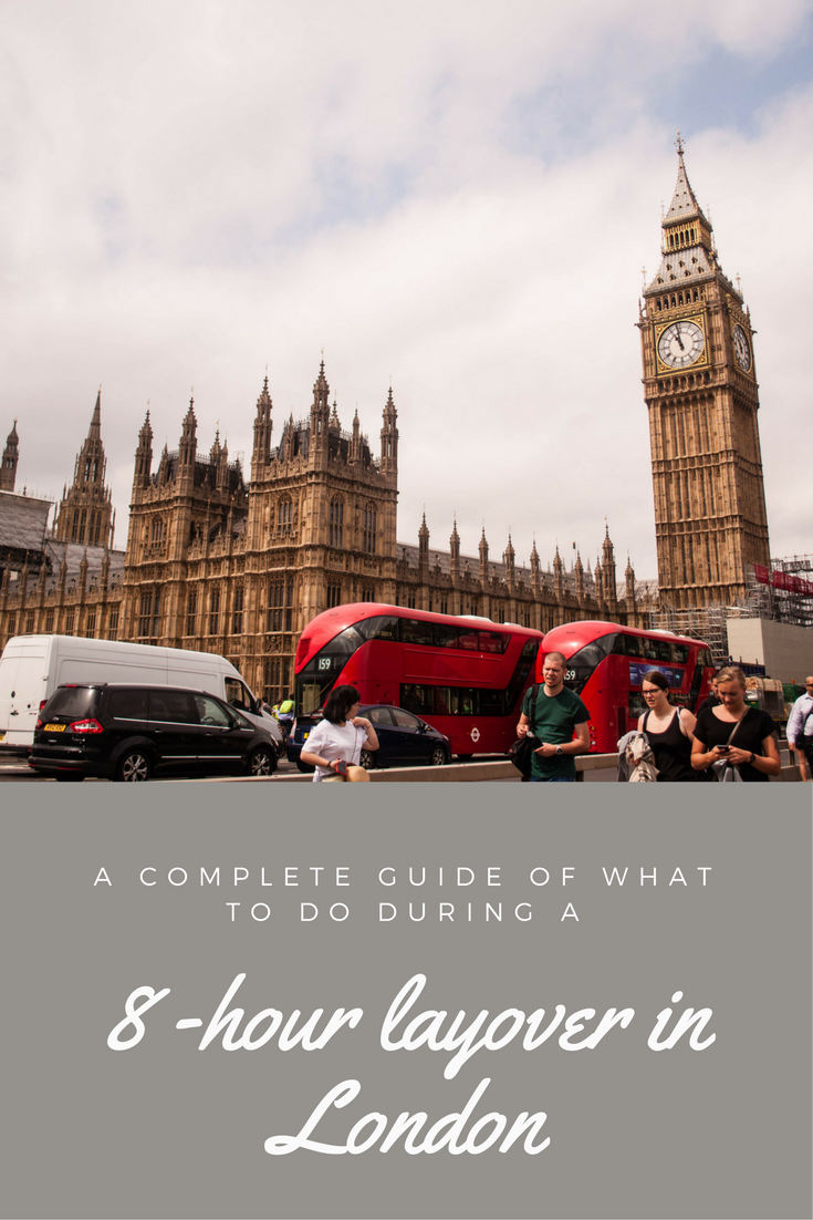 A complete guide of that to do during a 8 hour layover in London. Wondering what to do with your bag or if you can leave the airport? This guide answers all this questions and more sightseeing in 8 hour layover in London.
