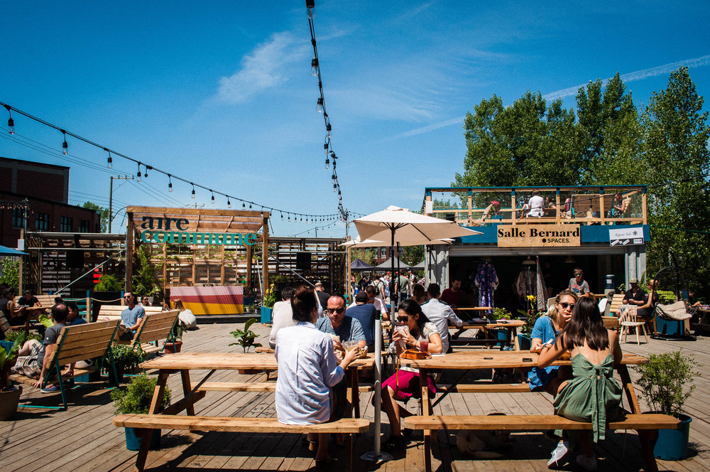 Air Commune, one of 6 original terraces to enjoy the summer in Montreal