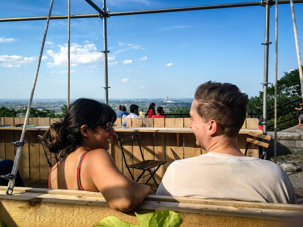 Cafe Suspendu, one of 6 original terraces to enjoy the summer in Montreal