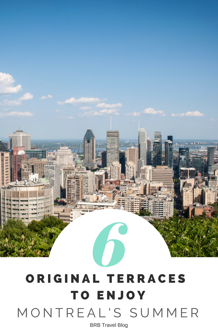6 original terraces to enjoy the summer in Montreal