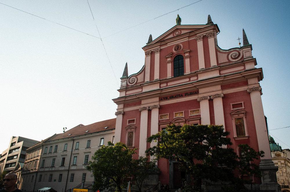 PREŠEREN SQUARE. Part of your Ljubljana Itinerary