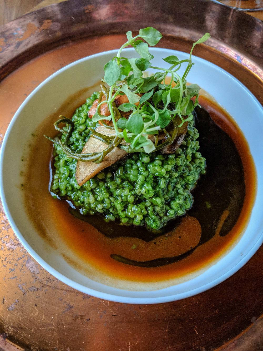 Dishes at the Strelec, Ljubljana Castle Restaurant