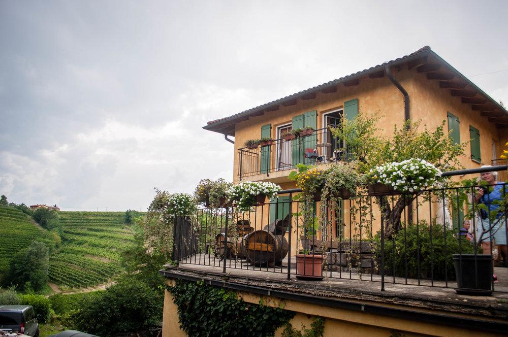 Kabaj Winery, located in Brda, Slovenia wine region