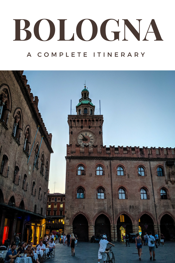 An insightful itinerary guide to the city of Bologna in Italy. This itinerary will give you the complete list of things to do, what and where to eat, where to stay and getting around. #Travel #Italy #Bologna