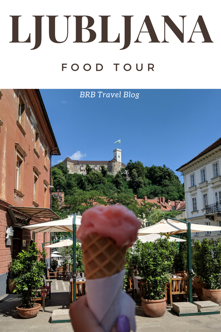 Food tour Ljubljana - a review of Bitemojo. This food tour takes you through the best restaurantss in the city along with top sightseeing spots in Ljubljana, Slovenia. #foodtour #foodie #travel #slovenia #Ljubljana