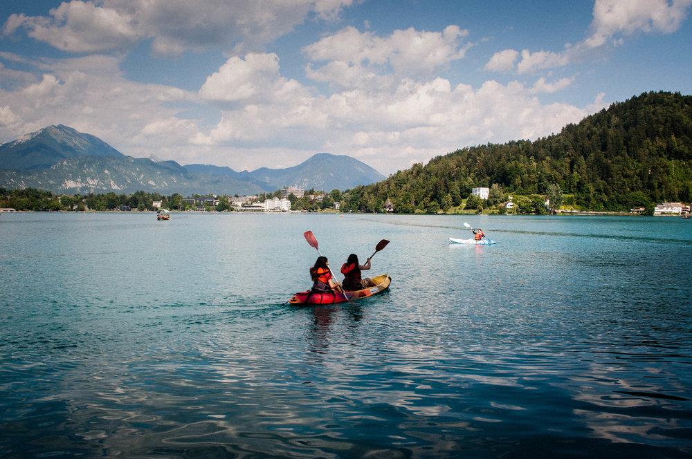 Kayaking in Lake Bled,Things to do in Lake Bled