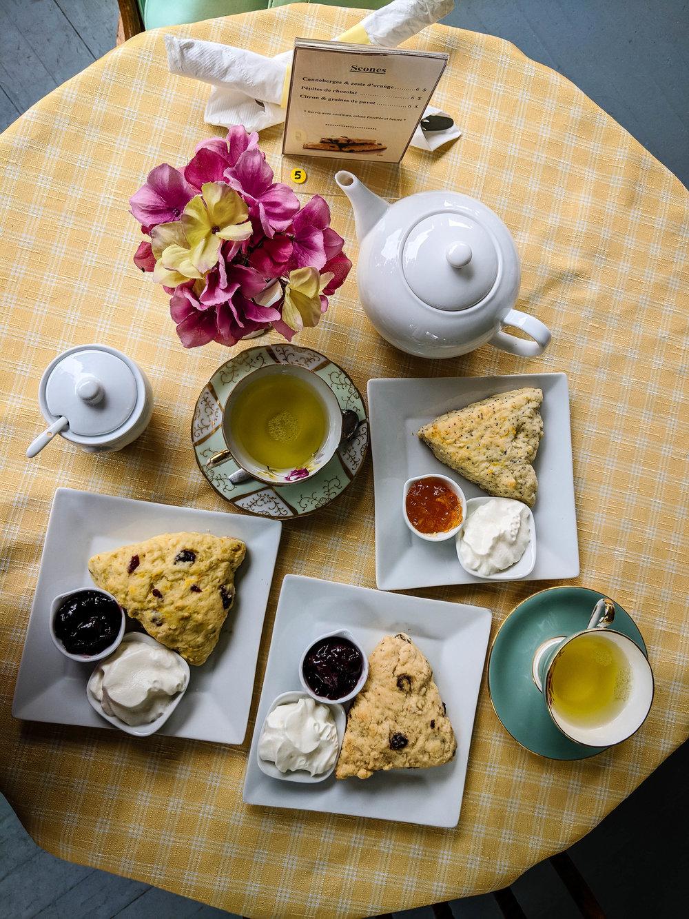 English Tea route in Quebec, Coaticook