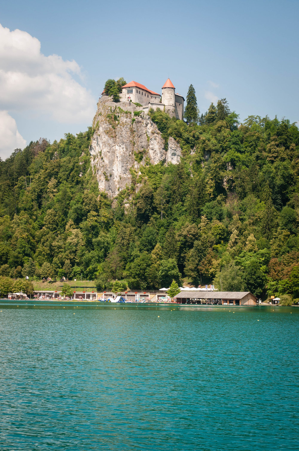 Lake Bled, part of the itinerary Road trip in Slovenia