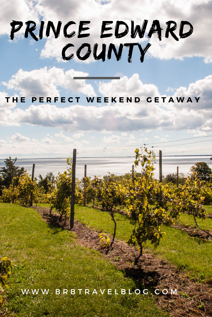 The perfect weekend getaway guide for Prince Edward County. This traveil guides takes you to the best places to eat, drink and do in the county. #Ontario #Canada #travel #Americas #princeedwardcounty #foodie
