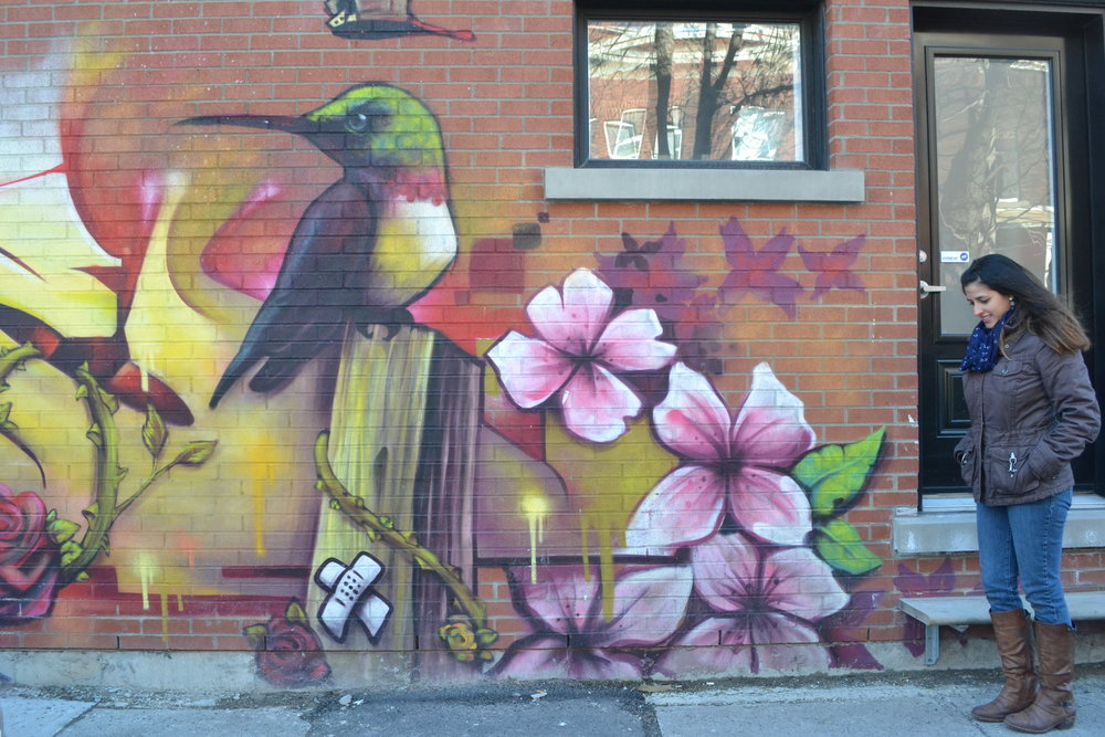 Graffiti. Saint-Henri, a Montreal neighbourhood guide