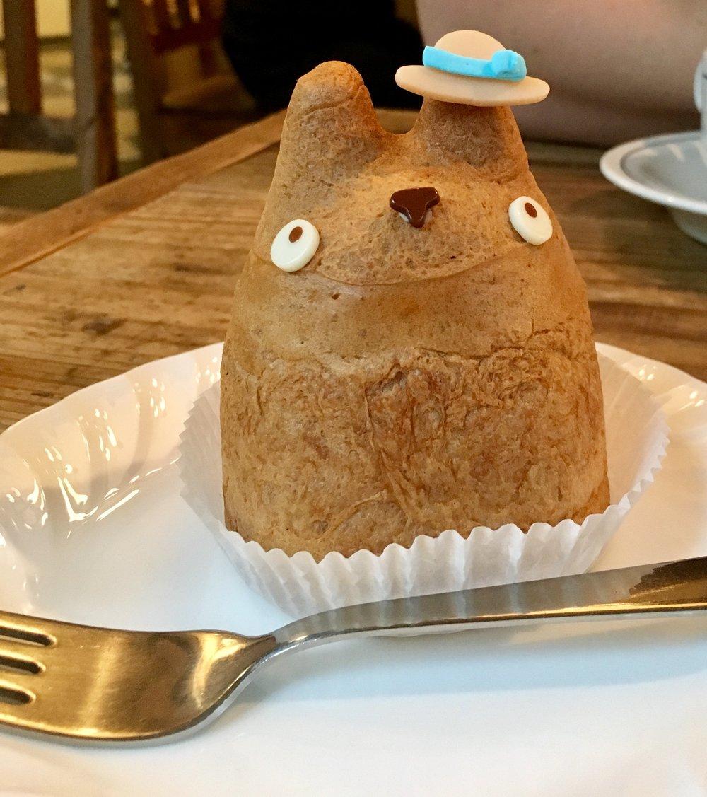 Totoro Cream Puff. Part of Tokyo itinerary 7 days