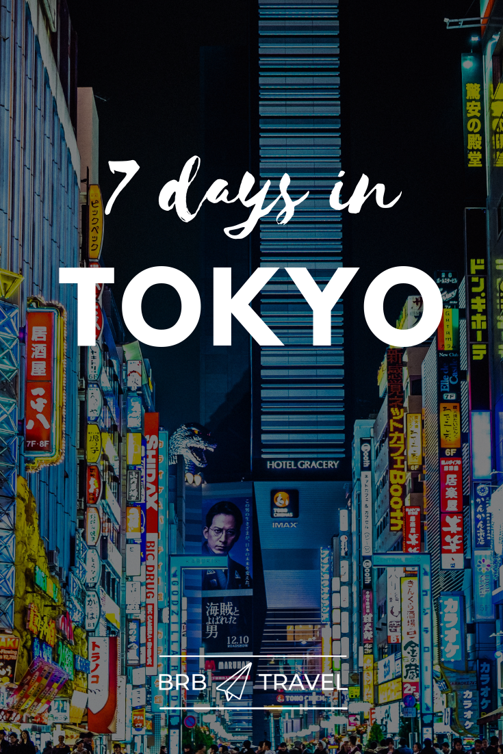 Your Tokyo Itinerary. Tokyo itinerary 7 days #travel #tokyo #Japan #Itinerary #7daysInTokyo #asia