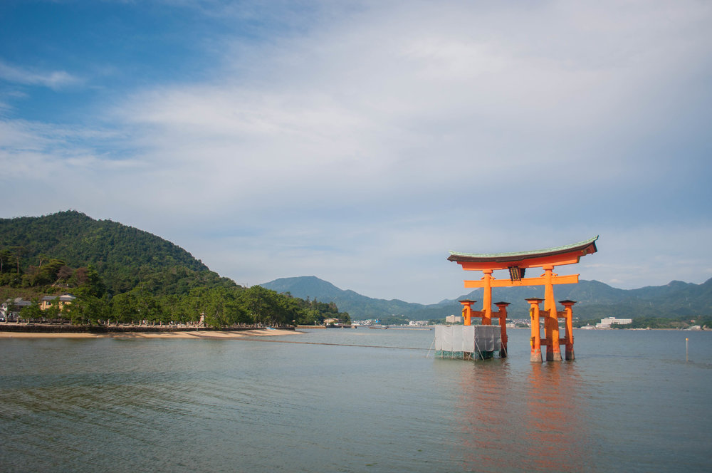 Miyajima part of the itinerary for couples doing their honeymoon in Japan