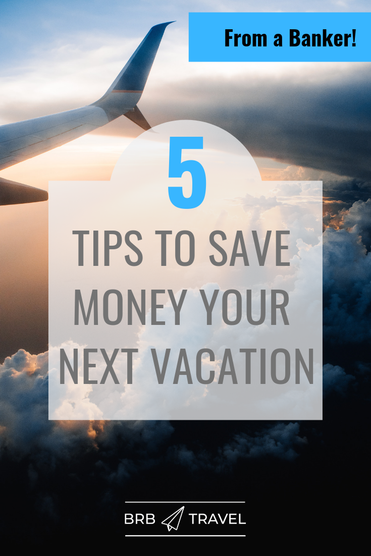 5 simple tips to create savings action plan for your next vacation. With this tips from a banker you are sure to save money for your dream trip? ! #travel#traveltips #moneytips #Saving #Tips