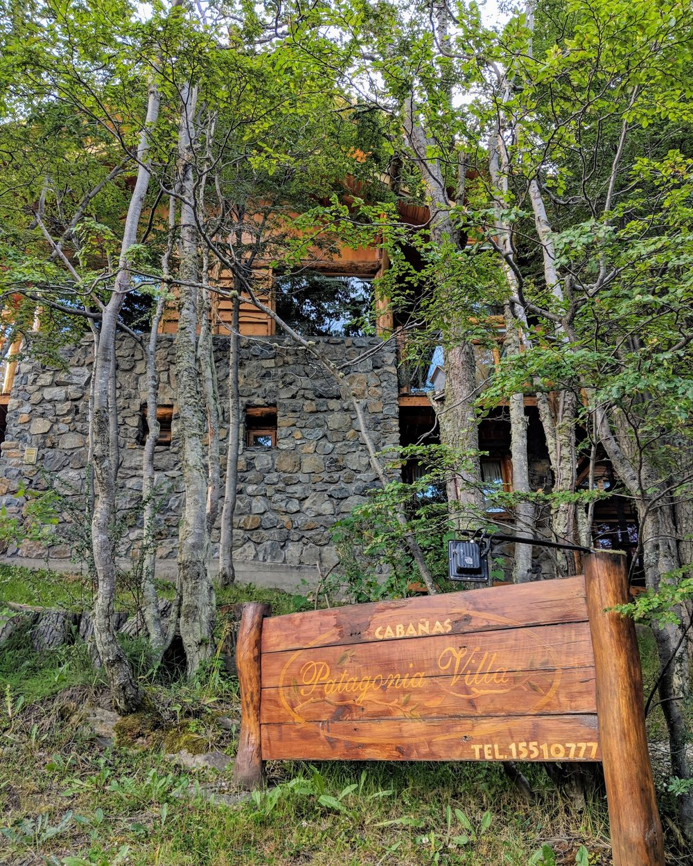 Cabins at Patagonia villa