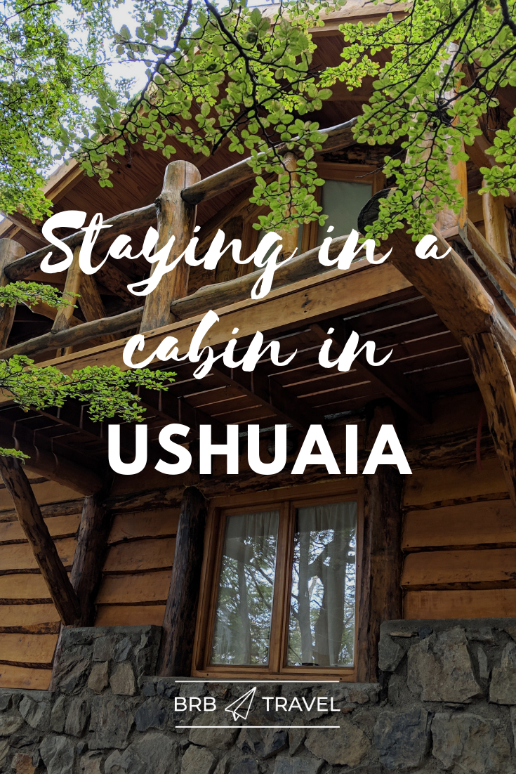 What it is like to stay at the Patagonia Villa. Patagonia Villa is a cabin complexe in Ushuaia. #Hotelreview #Ushuaia #woodcabins #naturegetaway #Patagonia #Argentina #Travel #americas #southAmerica