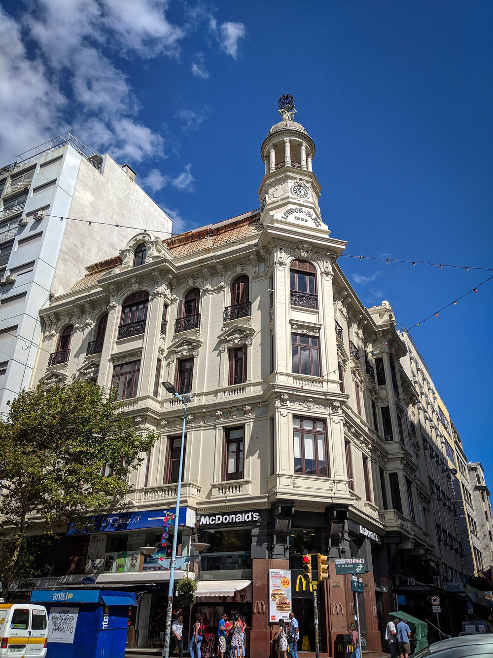 Architecture in Montevideo.  things to do in Montevideo