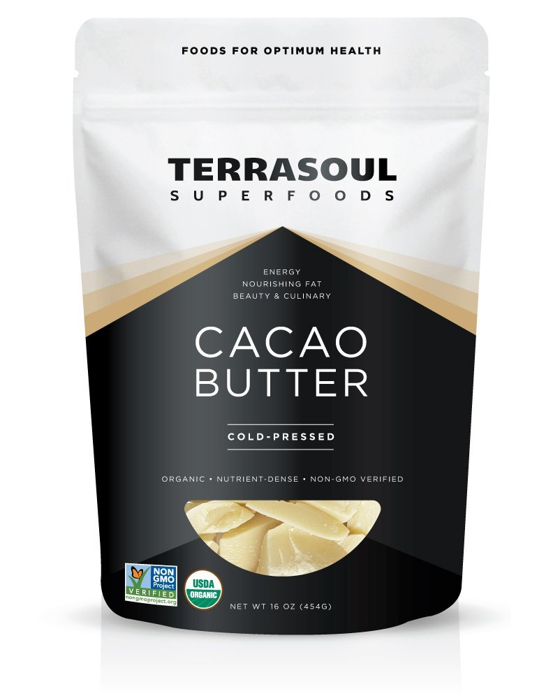 Cacao Butter - I use this in my bulletproof coffee and matcha