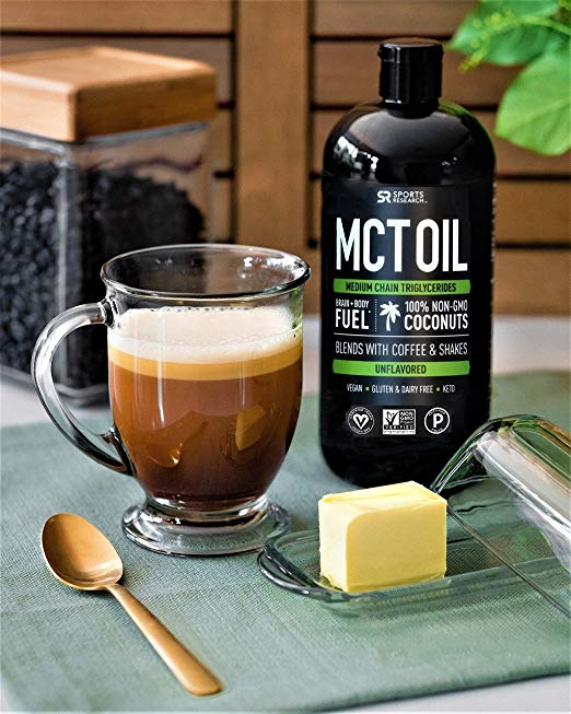 MCT Oil - I use this in my bulletproof coffee