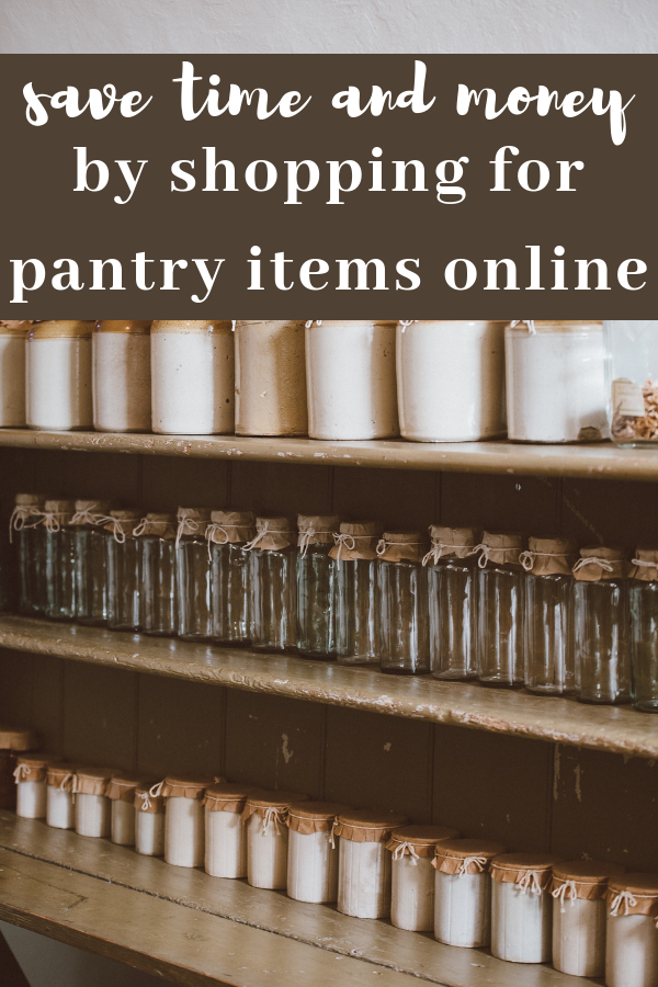 Do you know how much time and money you could save buying pantry items online instead of at the grocery store? Click here to read a comparison chart of prices between online retailers and a grocery store.