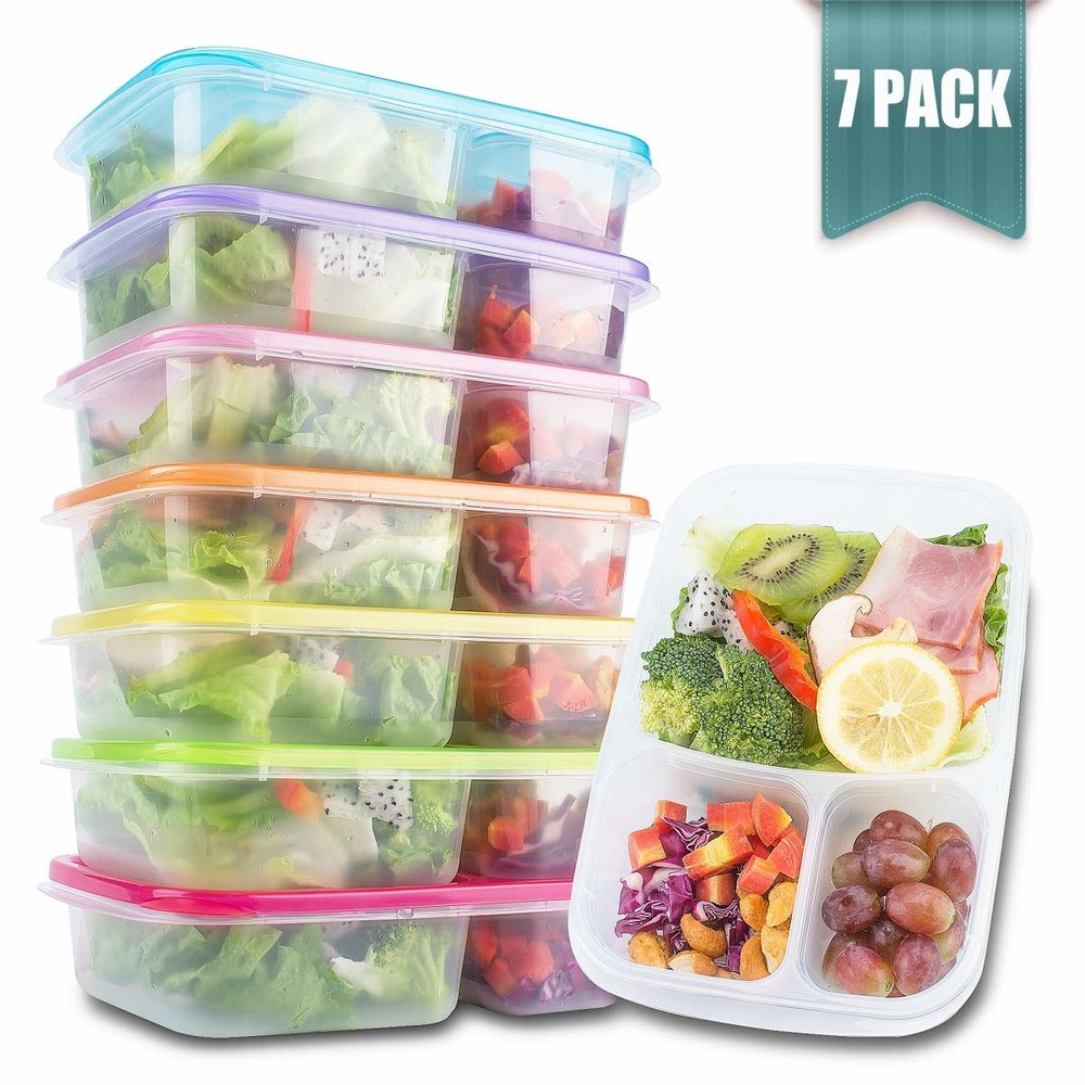 Split Meal Prep Container -