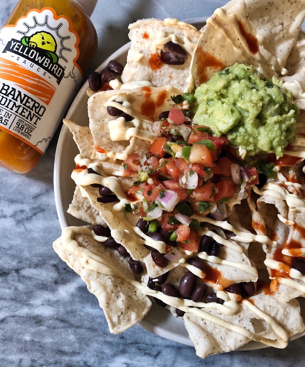 Dairy free habanero queso is a delicious, creamy, spicy cheese sauce that just so happens to be vegan. It is so delicious that you won't even be able to tell. Make dairy free queso the next addition to Sunday football snacks.