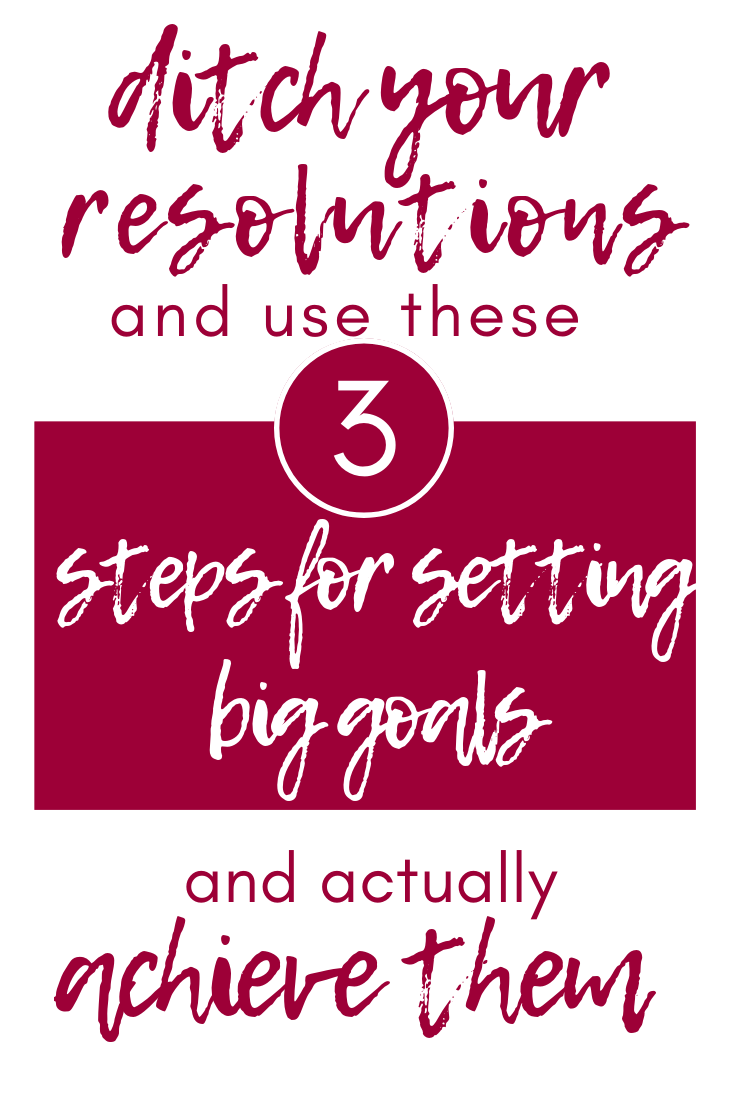 Sick of failed resolutions? Use these 3 steps to set goals that you will actually be able to achieve. You aren't the problem you have just been setting unattainable resolutions.