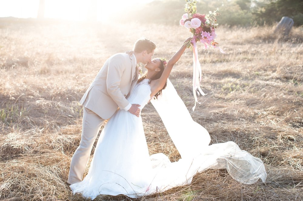 Santa Cruz California beach wedding