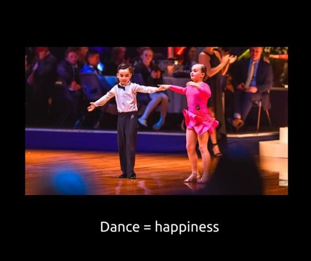 On the International Day of Happiness, we'd love to hear some of your happy dance memories 💕 (How happy do these two cuties look!) #InternationalDayOfHappiness #dancesport #dance #ballroom #happiness