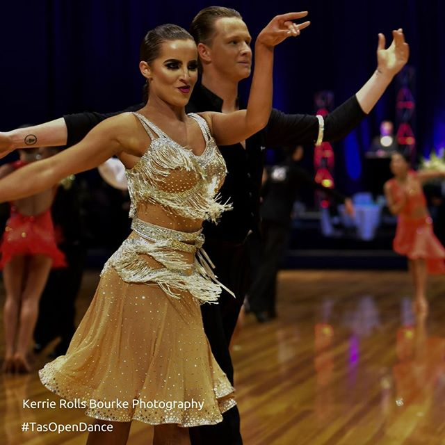 """A life lived in fear is a life half lived"" Fran - Strictly Ballroom  If you haven't entered yet, why not? We would love to see you in August 💃🕺 #TasOpenDance  Thank you 📷: Kerrie Rolls Bourke Photography"