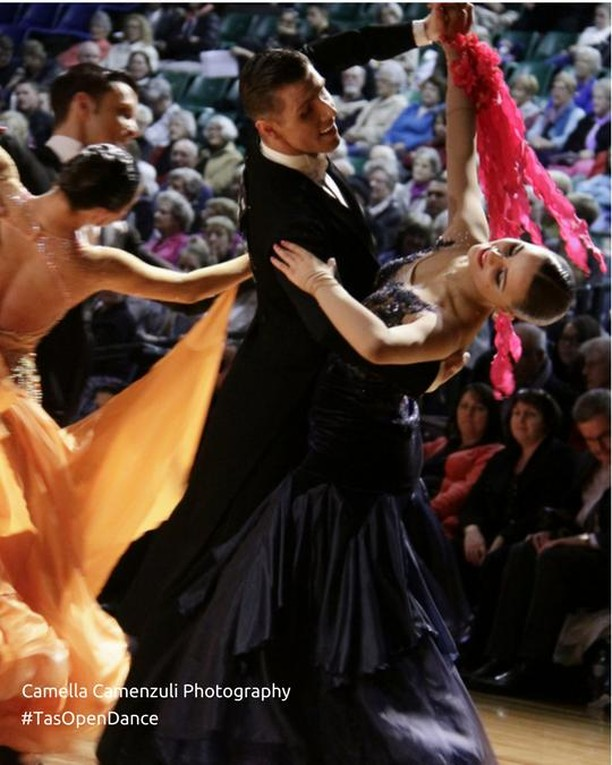 """We dance for laughter, we dance for tears, we dance for madness, we dance for fears, we dance for hopes, we dance for screams, we are the dancers, we create the dreams"" - Albert Einstein  #TasOpenDance #Dancesport #ballroomdancing #dancersofinstagram #waltz #letswaltz #shallwedance #sytycd #strictlyballroom #strictly  Thank you 📷: Camella Camenzuli Photography"