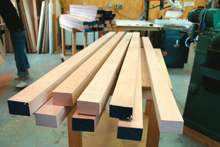 Timber thickness for benchtop