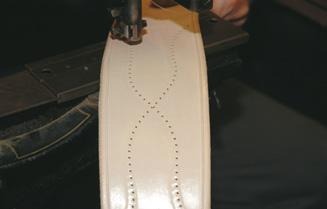 Centre cinch pattern