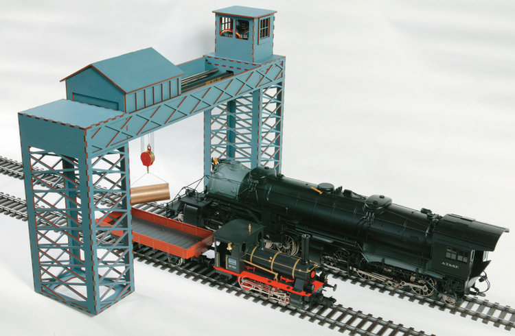 Build A Gantry Crane For Model Railway Using Versatile Stepper Motors