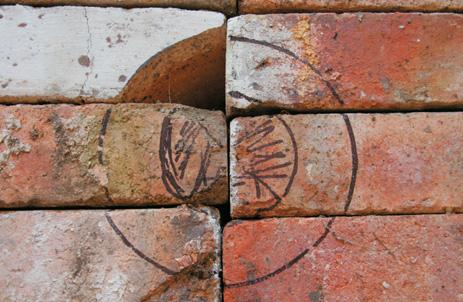 fire bricks marked