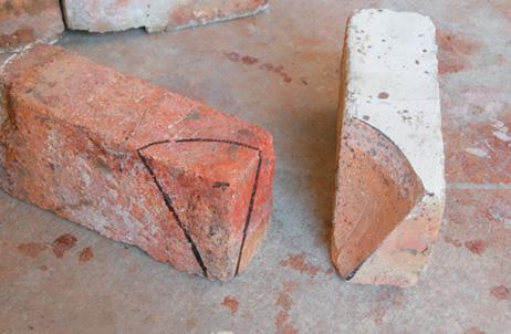 fire bricks cut