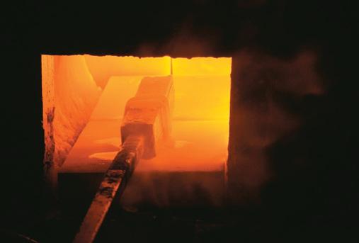 Heating billet