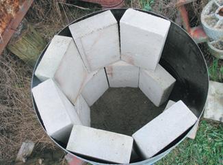 Angular structure of bricks